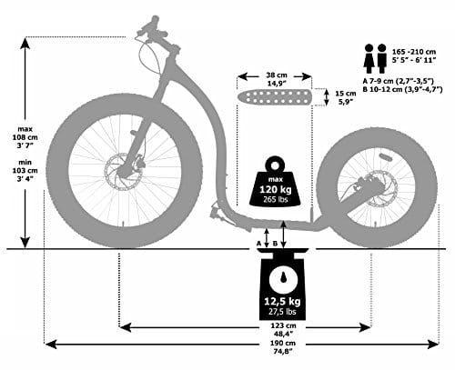 kickbike-fat-max-technische details