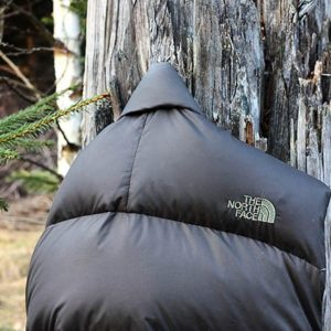the north face nuptse detail