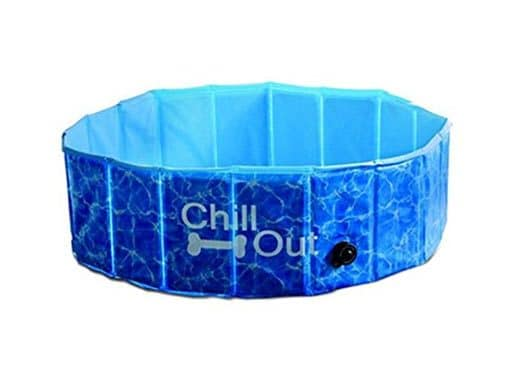 hunde swimmingpool chill out